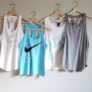 Nike Tank Top Bundle - 4 Tanks